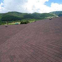 Покрив с битумни керемиди 91
