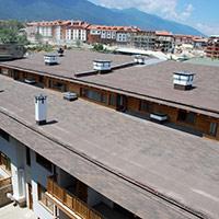 Покрив с битумни керемиди 88