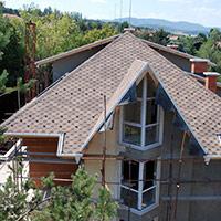 Покрив с битумни керемиди 85
