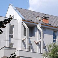 Покрив с битумни керемиди 84