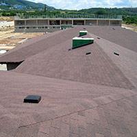 Покрив с битумни керемиди 83
