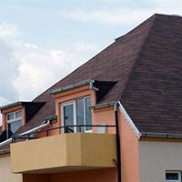 Покрив с битумни керемиди 82