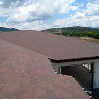 Покрив с битумни керемиди 77