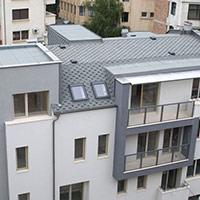 Покрив с битумни керемиди 55