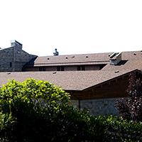 Покрив с битумни керемиди 45