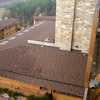 Покрив с битумни керемиди 40