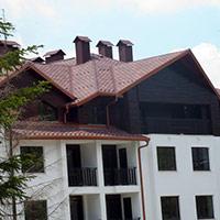 Покрив с битумни керемиди 25