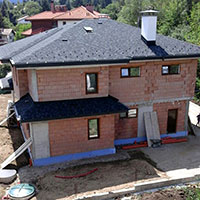 Покрив с битумни керемиди 16