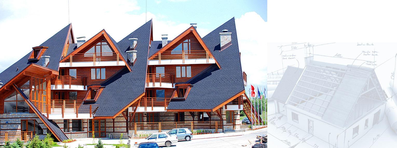 Self-adhesive shingles on Hotels Radenka